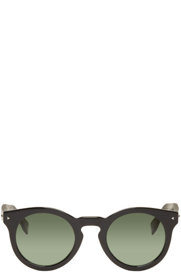 Fendi - Black Round Sunglasses