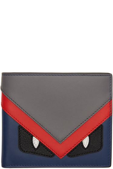 Fendi - Multicolor 'Bag Bugs' Wallet