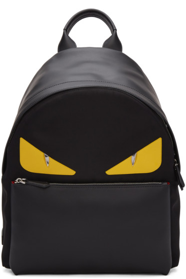 Fendi - Black 'Bag Bug' Backpack