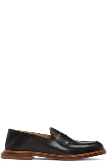 Fendi - ブラック コンバーチブル ローファー
