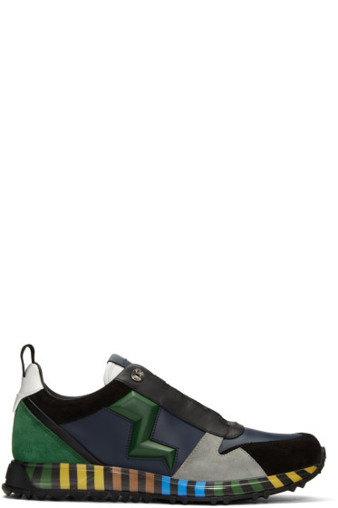 Fendi - Multicolor Speed Runner Sneakers