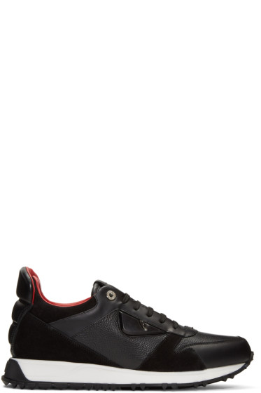 Fendi - Black 'Bag Bugs' Sneakers