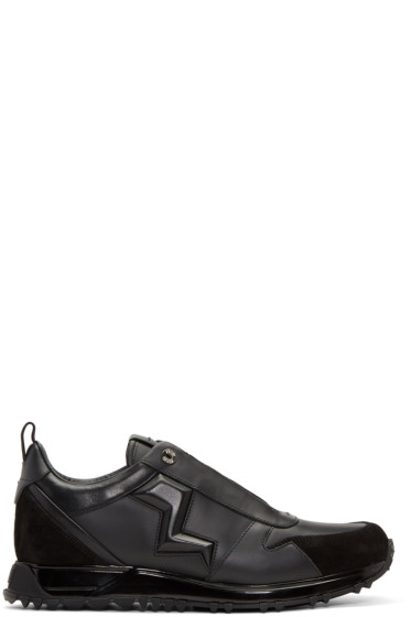 Fendi - Black Speed Runner Sneakers