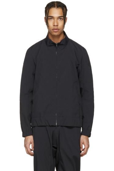 Attachment - Black Track Jacket