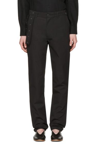 Craig Green - Black Slim Trousers