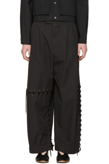 Craig Green - Black Laced Trousers