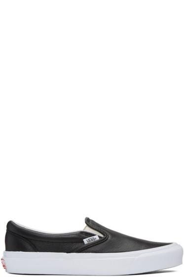 Vans - Black UA OG Classic LX Slip-On Sneakers