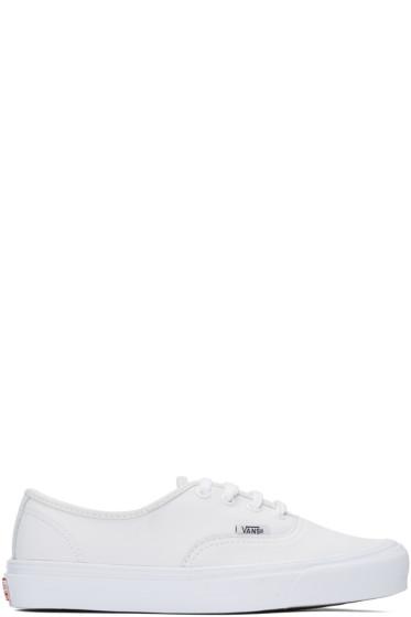 Vans - White UA OG Authentic LX VL Sneakers