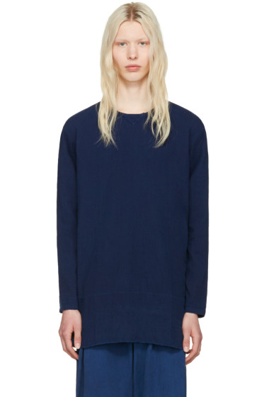 Blue Blue Japan - Indigo Cotton Pullover