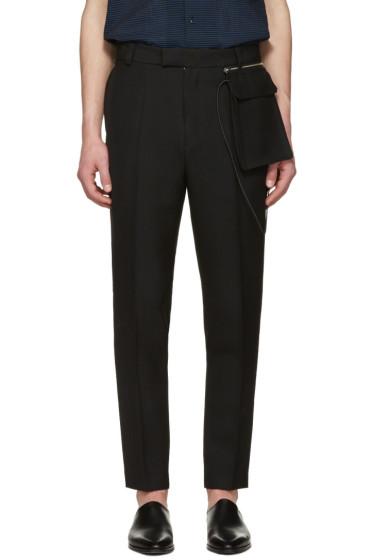 CMMN SWDN - Black Stetson Trousers