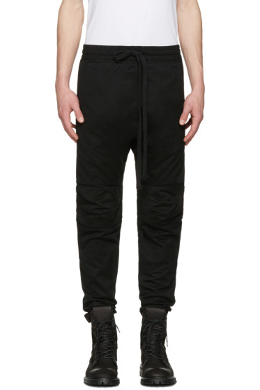 UEG - Black Biker Trousers