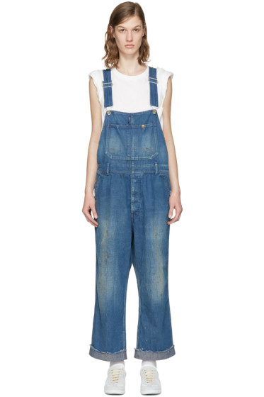 Chimala - Blue Denim Overalls