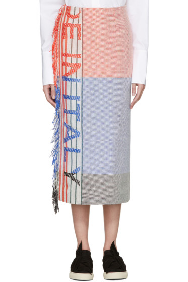 Ports 1961 - Multicolor 'Made In Italy' Skirt