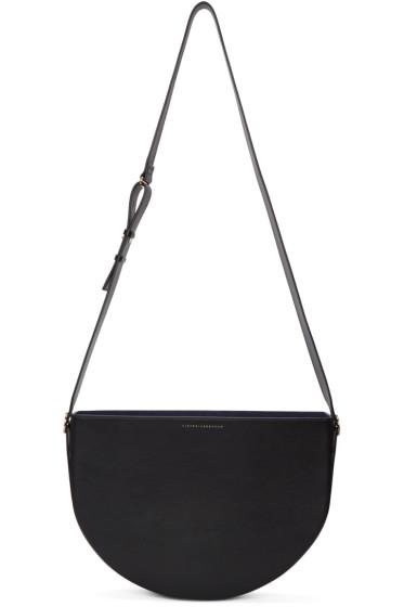 Victoria Beckham - Black Small Half Moon Bag