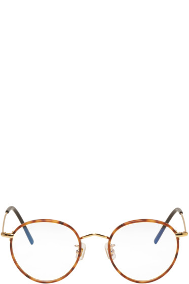 Gentle Monster - Tortoiseshell & Gold 14 Proud Glasses