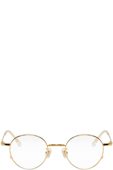 Gentle Monster - Gold Dear Classic Glasses
