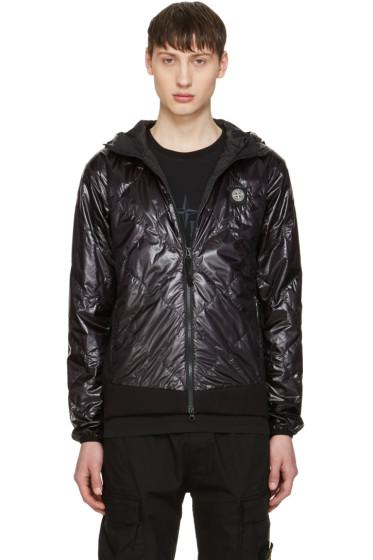 Stone Island - Black Hooded Jacket
