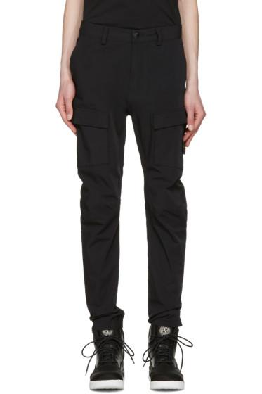 Stone Island - Black Cargo Pants