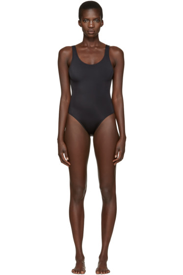 Solid & Striped - Black The Anne-Marie Swimsuit