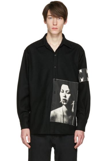 Enfants Riches Déprimés - Black Checkered Graphic Shirt