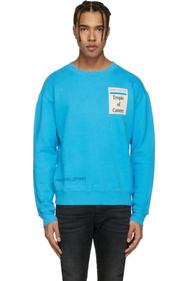 Enfants Riches Déprimés - Blue 'Tropic of Cancer' Sweatshirt