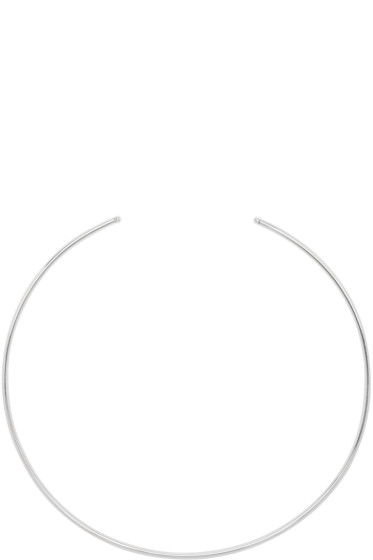 Saskia Diez - Silver Bold Wire Choker