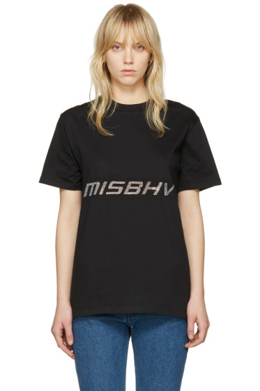 Misbhv - Black Techno T-Shirt