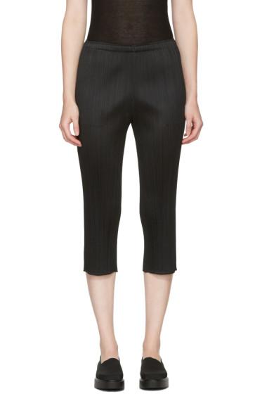 Pleats Please Issey Miyake - Black Pleated Trousers