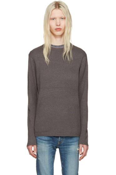 nonnative - Grey Clerk Sweater