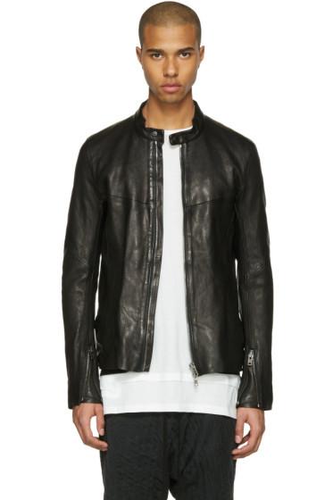 The Viridi-anne - Black Leather Jacket
