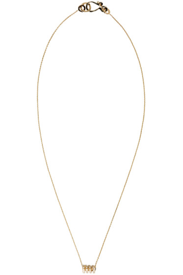 Sophie Bille Brahe - Gold Ressort Chain Necklace