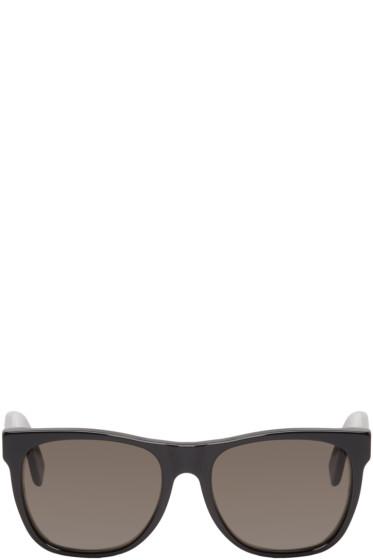 Super - Black Rectangular Classic Sunglasses