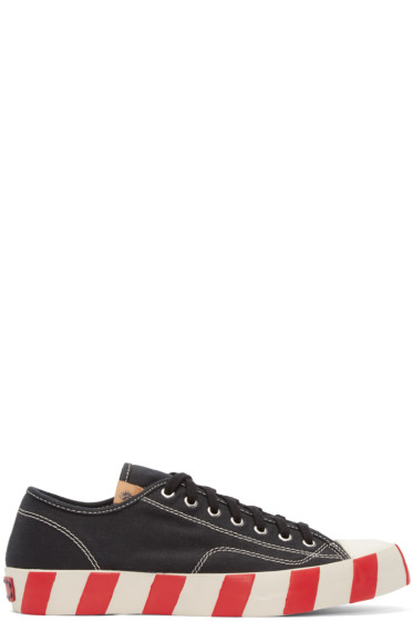 Visvim - Black Skagway Lo Stripes Sneakers