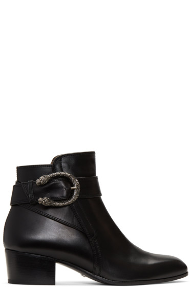 Gucci - Black Dionysus Boots