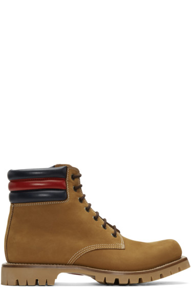 Gucci - Tan Suede Boots