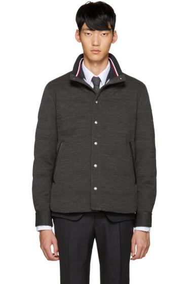 Moncler Gamme Bleu - Grey Down Jacket