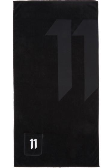 11 by Boris Bidjan Saberi - Black Logo Towel