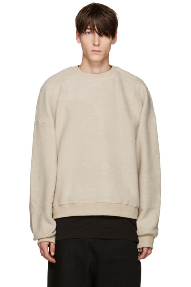 D by D - Beige Oversized Pullover