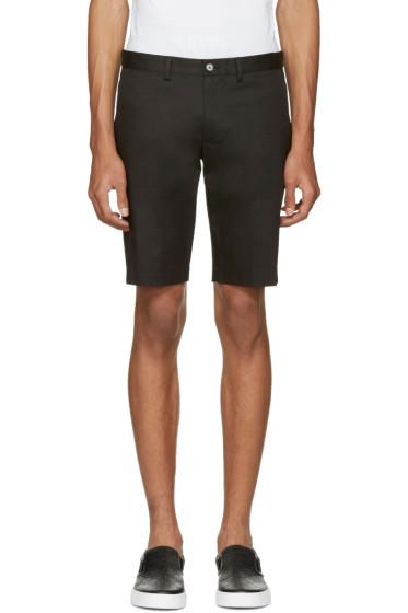 Dolce & Gabbana - Black Cotton Shorts