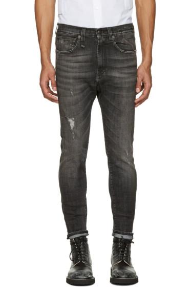 R13 - Black Drop Jeans