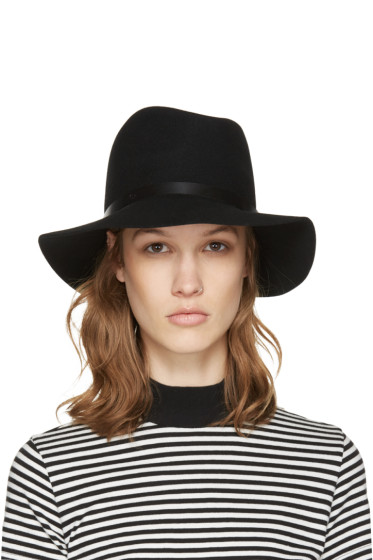 Rag & Bone - Black Wool Fedora