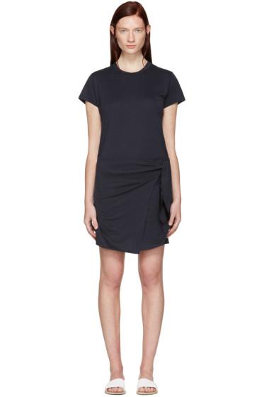 Rag & Bone - Navy Andie T-Shirt Dress