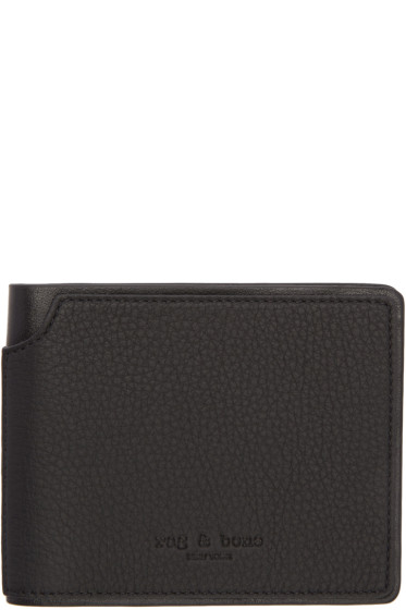 Rag & Bone - Black Billfold Wallet