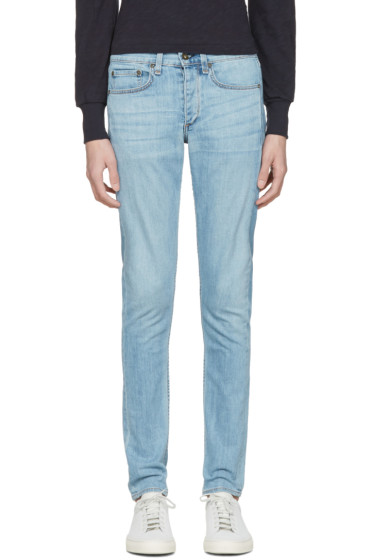 Rag & Bone - Blue Standard Issue Fit 1 Jeans