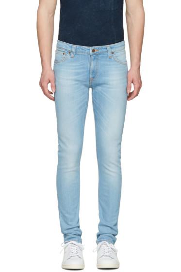 Nudie Jeans - Blue Skinny Lin Jeans