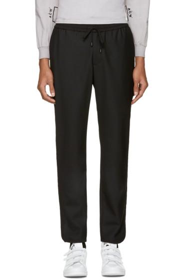 Public School - Black Wool Ilyn Track Pants