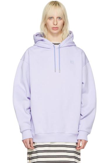 Acne Studios - Purple Yala Face Hoodie