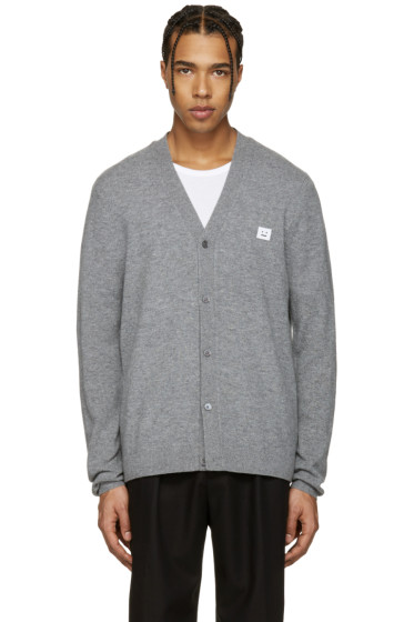 Acne Studios - Grey Dasher C Face Cardigan