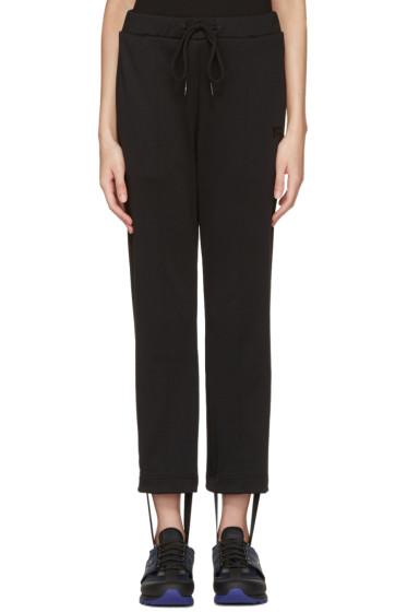 Y-3 - Black Stirrup Track Pants