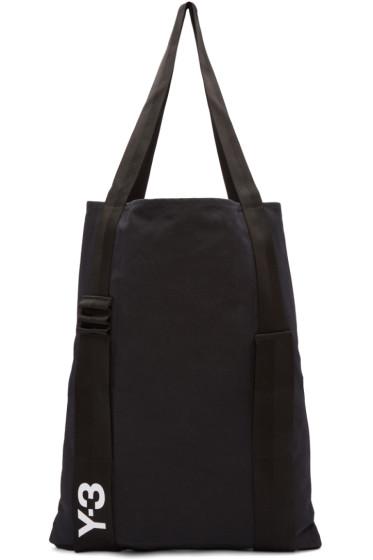 Y-3 - Black Iconic Tote Bag